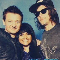 Jeremy renner norman reedus Wizard world meeting chris evans jeremy renner 7