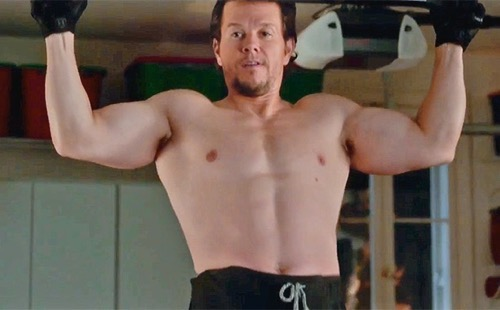 daddys-home mark wahlberg shirtless flex nude