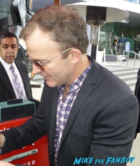 Tom McCarthy signing autographs spotlight