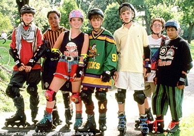 The Mighty Ducks cast photo