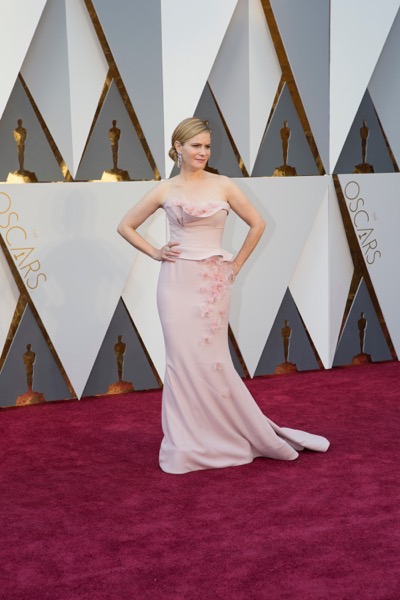 THE OSCARS(r) - ARRIVALS - The 88th Oscars, held on Sunday, February 28, at the Dolby Theatre(r) at Hollywood & Highland Center(r) in Hollywood, are televised live by the ABC Television Network at 7 p.m. EST/4 p.m. PST.  (ABC/Rick Rowell) JENNIFER JASON LEIGH
