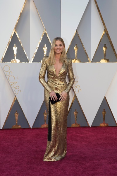 THE OSCARS(r) - ARRIVALS - The 88th Oscars, held on Sunday, February 28, at the Dolby Theatre(r) at Hollywood & Highland Center(r) in Hollywood, are televised live by the ABC Television Network at 7 p.m. EST/4 p.m. PST.  (ABC/Rick Rowell) MARGOT ROBBIE