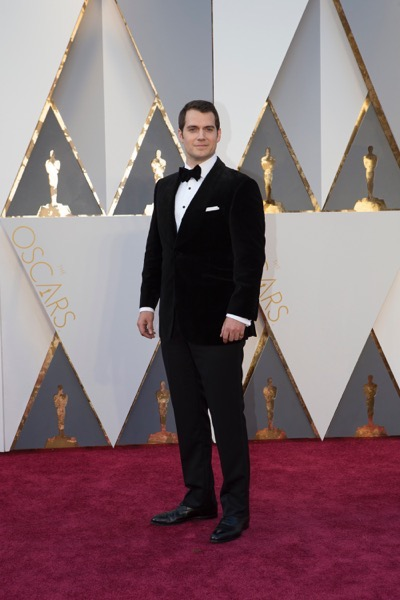THE OSCARS(r) - ARRIVALS - The 88th Oscars, held on Sunday, February 28, at the Dolby Theatre(r) at Hollywood & Highland Center(r) in Hollywood, are televised live by the ABC Television Network at 7 p.m. EST/4 p.m. PST.  (ABC/Rick Rowell) HENRY CAVILL