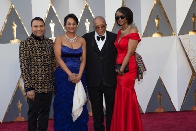 THE OSCARS(r) - ARRIVALS - The 88th Oscars, held on Sunday, February 28, at the Dolby Theatre(r) at Hollywood & Highland Center(r) in Hollywood, are televised live by the ABC Television Network at 7 p.m. EST/4 p.m. PST.  (ABC/Rick Rowell) QUINCY JONES