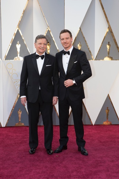 THE OSCARS(r) - ARRIVALS - The 88th Oscars, held on Sunday, February 28, at the Dolby Theatre(r) at Hollywood & Highland Center(r) in Hollywood, are televised live by the ABC Television Network at 7 p.m. EST/4 p.m. PST.  (ABC/Rick Rowell) MICHAEL FASSBENDER