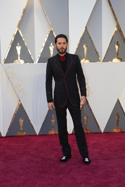 THE OSCARS(r) - ARRIVALS - The 88th Oscars, held on Sunday, February 28, at the Dolby Theatre(r) at Hollywood & Highland Center(r) in Hollywood, are televised live by the ABC Television Network at 7 p.m. EST/4 p.m. PST.  (ABC/Rick Rowell) JARED LETO