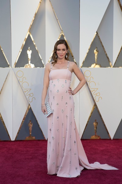 THE OSCARS(r) - ARRIVALS - The 88th Oscars, held on Sunday, February 28, at the Dolby Theatre(r) at Hollywood & Highland Center(r) in Hollywood, are televised live by the ABC Television Network at 7 p.m. EST/4 p.m. PST.  (ABC/Rick Rowell) EMILY BLUNT