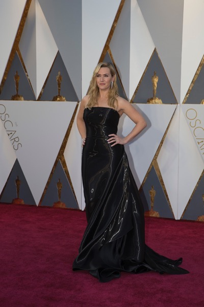 THE OSCARS(r) - ARRIVALS - The 88th Oscars, held on Sunday, February 28, at the Dolby Theatre(r) at Hollywood & Highland Center(r) in Hollywood, are televised live by the ABC Television Network at 7 p.m. EST/4 p.m. PST.  (ABC/Rick Rowell) KATE WINSLET