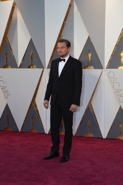 THE OSCARS(r) - ARRIVALS - The 88th Oscars, held on Sunday, February 28, at the Dolby Theatre(r) at Hollywood & Highland Center(r) in Hollywood, are televised live by the ABC Television Network at 7 p.m. EST/4 p.m. PST.  (ABC/Rick Rowell) LEONARDO DICAPRIO