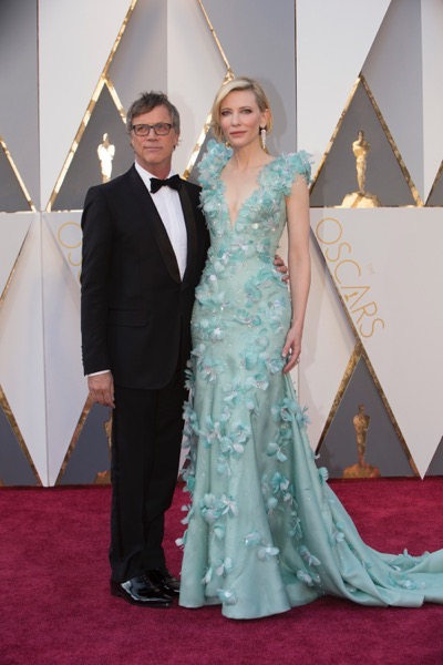 THE OSCARS(r) - ARRIVALS - The 88th Oscars, held on Sunday, February 28, at the Dolby Theatre(r) at Hollywood & Highland Center(r) in Hollywood, are televised live by the ABC Television Network at 7 p.m. EST/4 p.m. PST.  (ABC/Rick Rowell) TODD HAYNES, CATE BLANCHETT