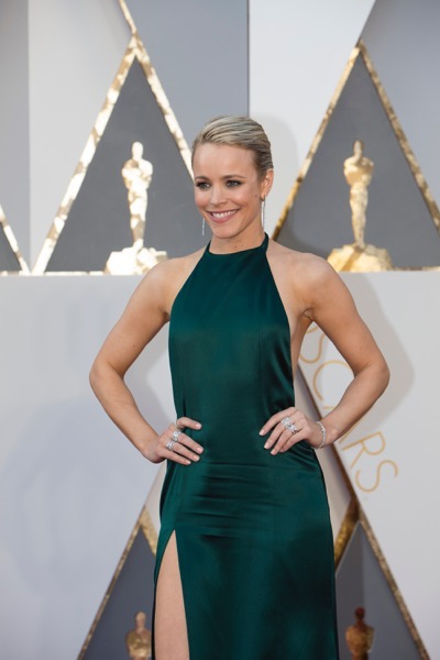 THE OSCARS(r) - ARRIVALS - The 88th Oscars, held on Sunday, February 28, at the Dolby Theatre(r) at Hollywood & Highland Center(r) in Hollywood, are televised live by the ABC Television Network at 7 p.m. EST/4 p.m. PST.  (ABC/Rick Rowell) RACHEL MCADAMS