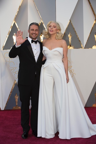 THE OSCARS(r) - ARRIVALS - The 88th Oscars, held on Sunday, February 28, at the Dolby Theatre(r) at Hollywood & Highland Center(r) in Hollywood, are televised live by the ABC Television Network at 7 p.m. EST/4 p.m. PST.  (ABC/Rick Rowell) TAYLOR KINNEY, LADY GAGA