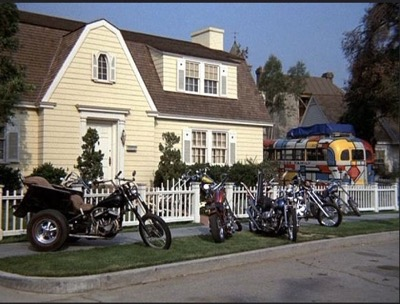 Warner Bros Ranch Partridge house