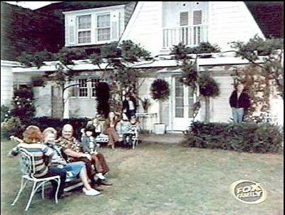 Warner Bros Ranch Partridge house