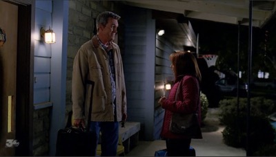 Warner Bros Ranch Bel Aire House the middle