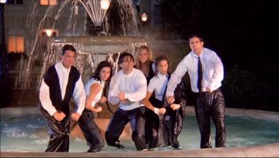 Warner Bros Ranch friends fountain