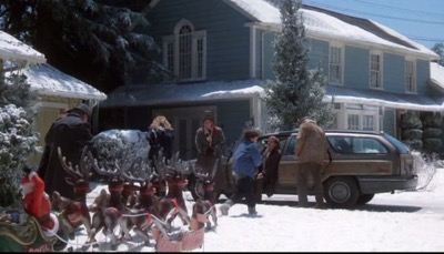Warner Bros Ranch lindsey house todd and margo christmas vacation