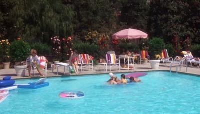 Warner Bros Ranch pool christmas vacationWarner Bros Ranch pool christmas vacation