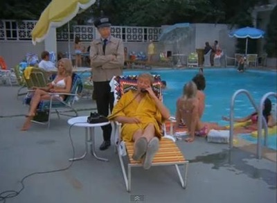 Warner Bros Ranch pool partridge family