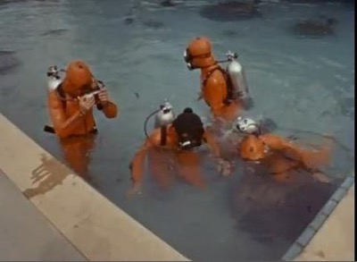 Warner Bros Ranch pool monkees