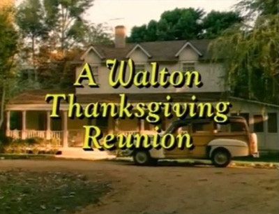 Warner Bros Ranch The Walton House thanksgiving reunion