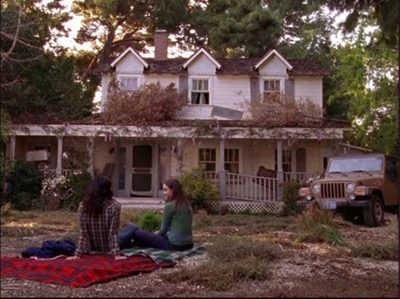 Warner Bros Ranch The Walton House dragonfly inn gilmore girls