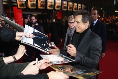 Zoolander No. 2 fan screening signing autographs ben stiller