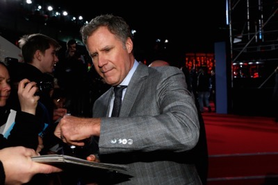 Zoolander No. 2 fan screening signing autographs Will Ferrell
