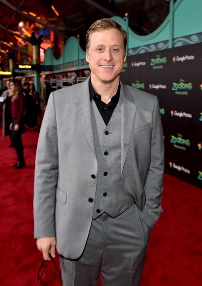 "HOLLYWOOD, CA - FEBRUARY 17:  Actor Alan Tudyk attends the Los Angeles premiere of Walt Disney Animation Studios' ""Zootopia"" on February 17, 2016 in Hollywood, California.  (Photo by Alberto E. Rodriguez/Getty Images for Disney) *** Local Caption *** Alan Tudyk"