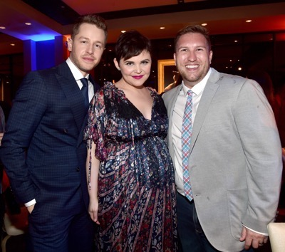 "HOLLYWOOD, CA - FEBRUARY 17:  (L-R) Actors Josh Dallas, Ginnifer Goodwin, and Nate Torrence attend the Los Angeles premiere of Walt Disney Animation Studios' ""Zootopia"" on February 17, 2016 in Hollywood, California.  (Photo by Alberto E. Rodriguez/Getty Images for Disney) *** Local Caption *** Ginnifer Goodwin; Nate Torrence; Josh Dallas"