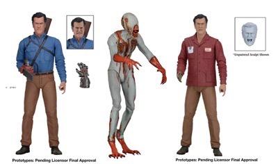 ash vs. evil dead neca figures