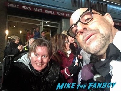 stanley tucci  signing autographs BAFTA Awards 2016 6
