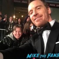 michael fassbender signing autographs BAFTA Awards 2016 5