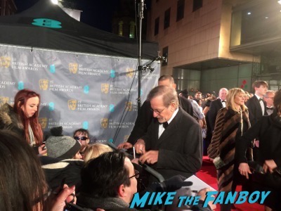 bryan cranston signing autographs bafta 2016