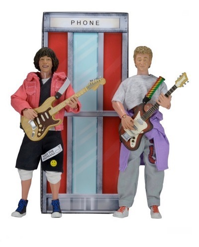 bill and ted's excellent adventure mego action figures
