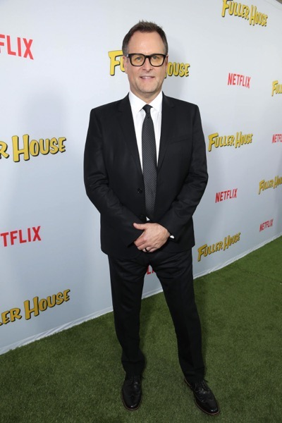 "Dave Coulier seen at Netflix Premiere of ""Fuller House"" at The Grove - Pacific Theatres on Tuesday, February 16, 2016, in Los Angeles, CA. (Photo by Eric Charbonneau/Invision for Netflix/AP Images)"