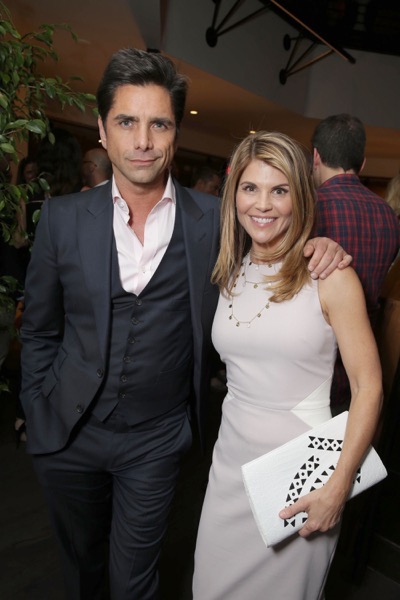 "Exclusive - John Stamos and Lori Loughlin seen at the after-party of the Netflix Premiere of ""Fuller House"" at The Grove - Pacific Theatres on Tuesday, February 16, 2016, in Los Angeles, CA. (Photo by Eric Charbonneau/Invision for Netflix/AP Images)"
