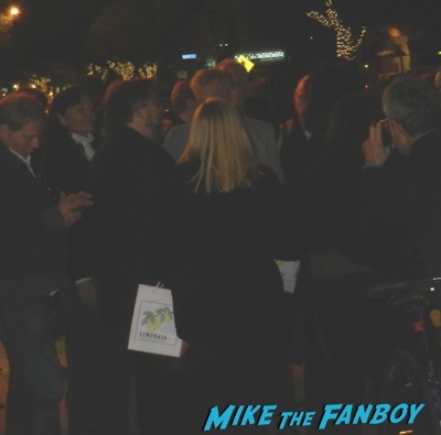 Ian McKellen signing autographs Mr Holmes q and a 7