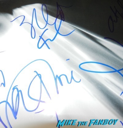 Karl urban signed autograph star trek poster