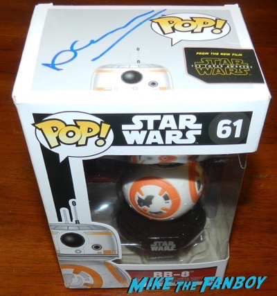 neil scanlan signed autograph bb-8 pop vinyl
