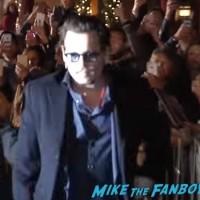 Johnny Depp ignoring fans santa barbara film festival 1