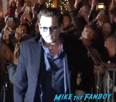 Johnny Depp ignoring fans santa barbara film festival 1