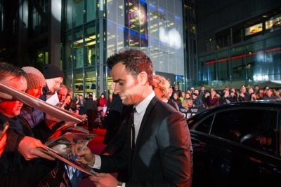 Zoolander No. 2 fan screening signing autographs Justin Theroux