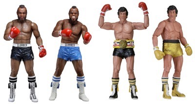 Rocky 3 action figures NECA coming soon