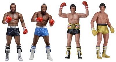 Rocky 3 action figures NECA coming soon