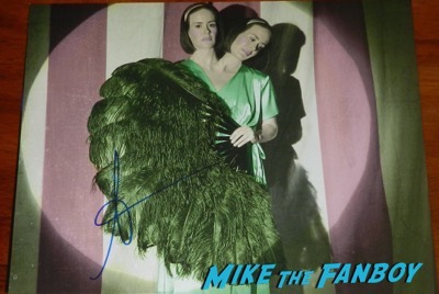 sarah paulson signed autograph horror story photo