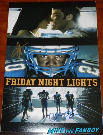connie britton signed autograph friday night lights poster