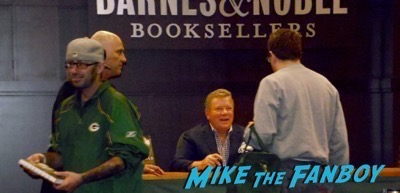 William Shatner Barnes and Noble book signing 4