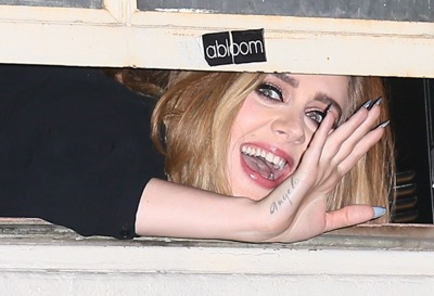 adele says hello to fans wiltern concert