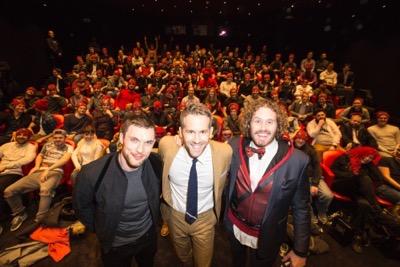 Deadpool london fan screening